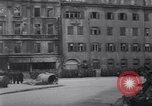 Image of U.S Army marches German prisoners through city Munich Germany, 1945, second 47 stock footage video 65675075225