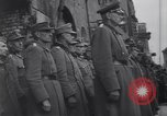 Image of U.S Army marches German prisoners through city Munich Germany, 1945, second 49 stock footage video 65675075225