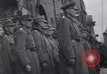 Image of U.S Army marches German prisoners through city Munich Germany, 1945, second 50 stock footage video 65675075225