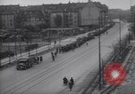 Image of U.S Army marches German prisoners through city Munich Germany, 1945, second 57 stock footage video 65675075225