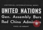 Image of United Nations General Assembly New York City USA, 1954, second 1 stock footage video 65675076501