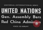 Image of United Nations General Assembly New York City USA, 1954, second 4 stock footage video 65675076501