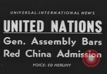 Image of United Nations General Assembly New York City USA, 1954, second 6 stock footage video 65675076501
