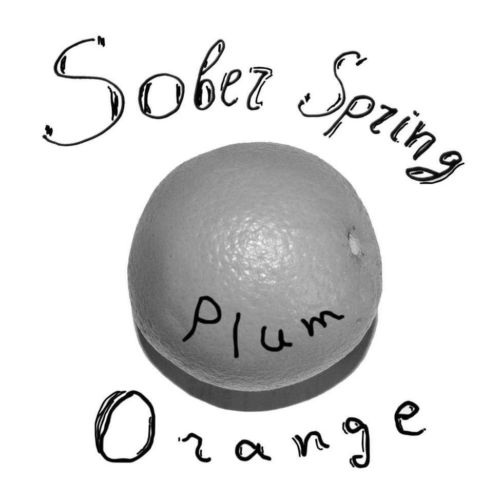Sober spring   plum orange