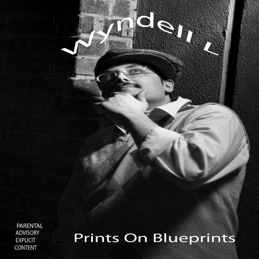 Front cover for prints on blueprints