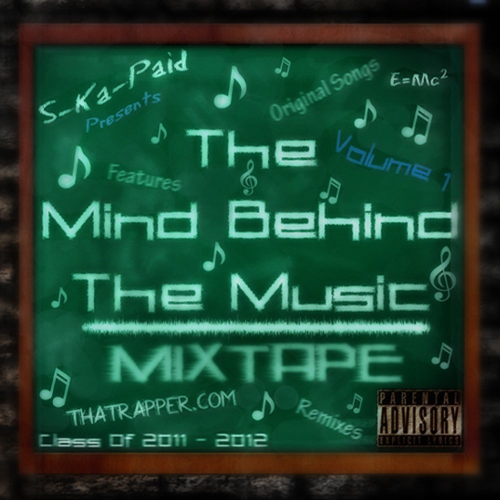 Mind behind the music front cover