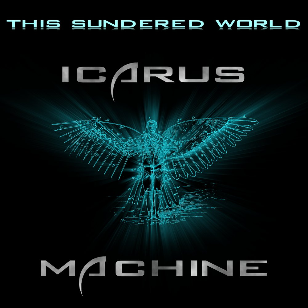 Icarus machine front sundered album cover