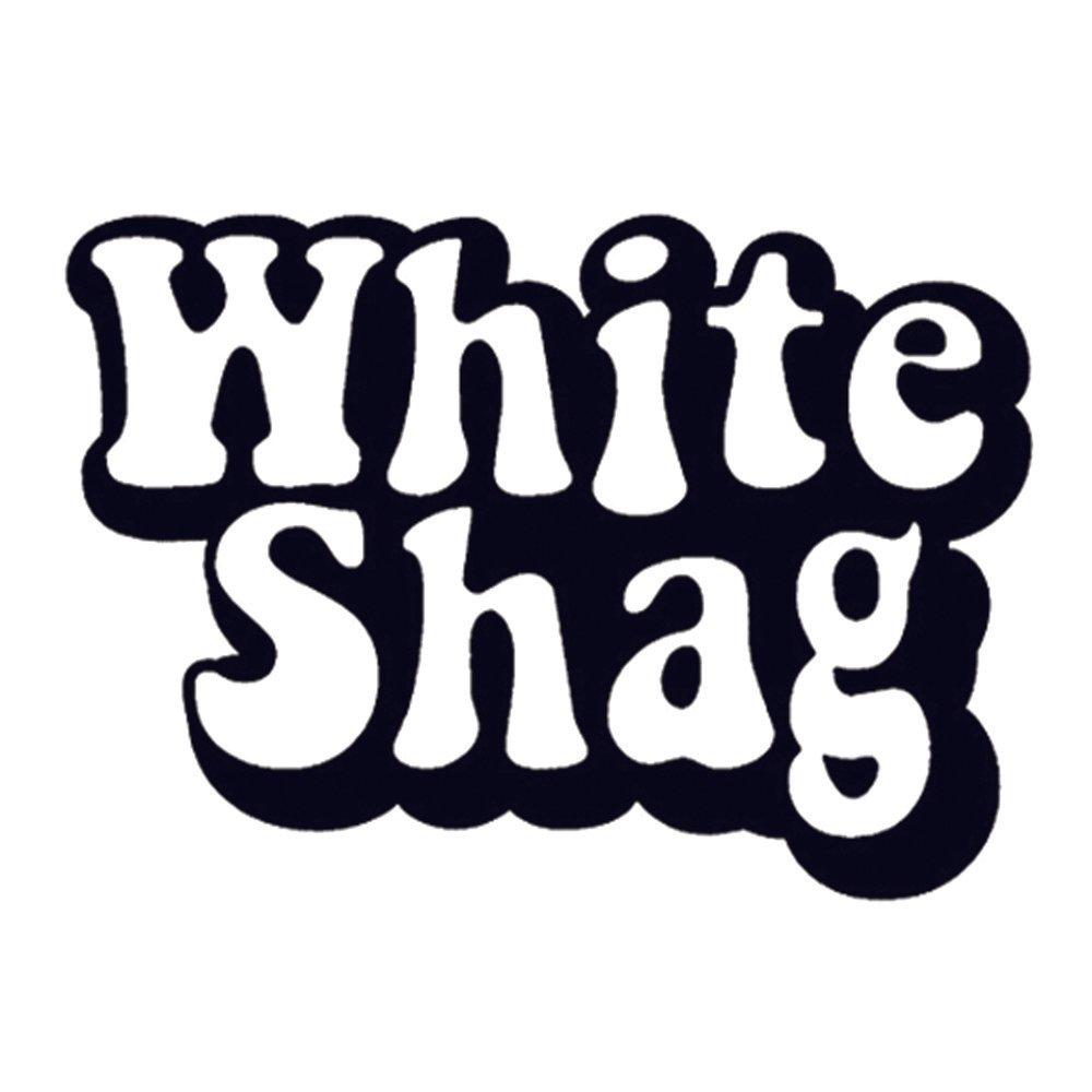White shag    panel insert  front