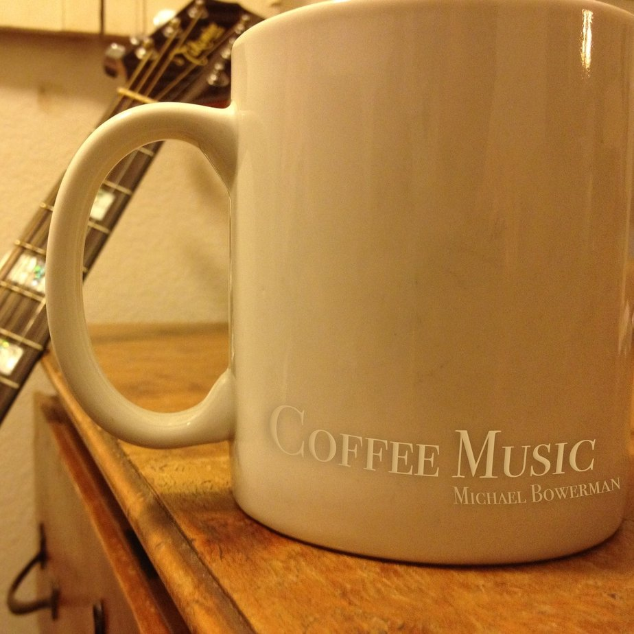 Coffee music cover art  website