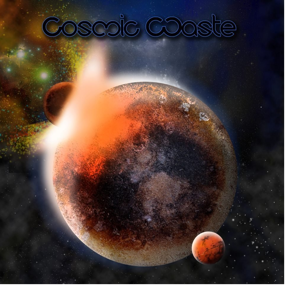 Cosmic waste logo by barrett adj