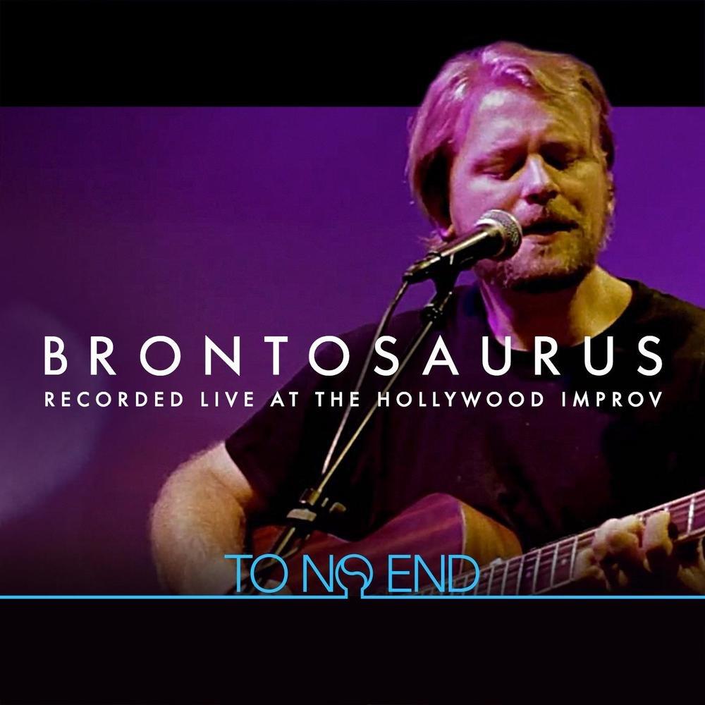 Album cover brontosaurus