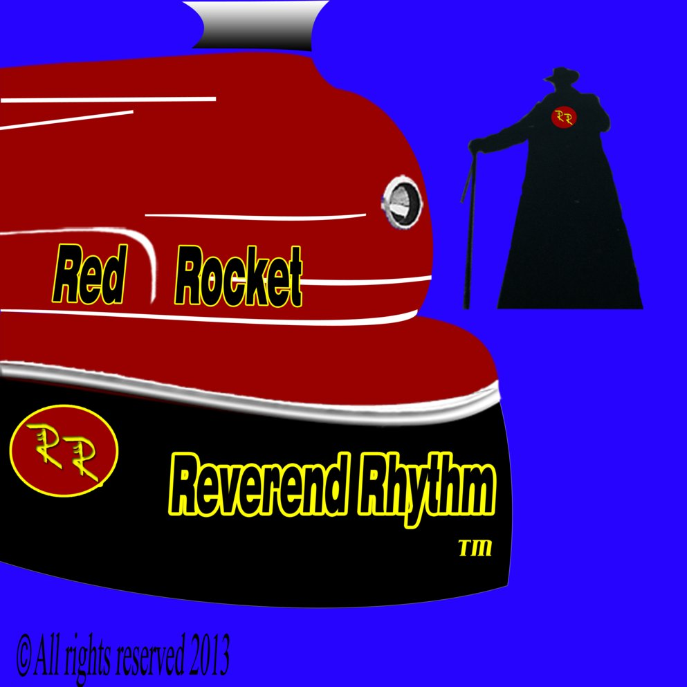 Reverend rhythm red rocket solar powered steam train x logo3600 square album cover1