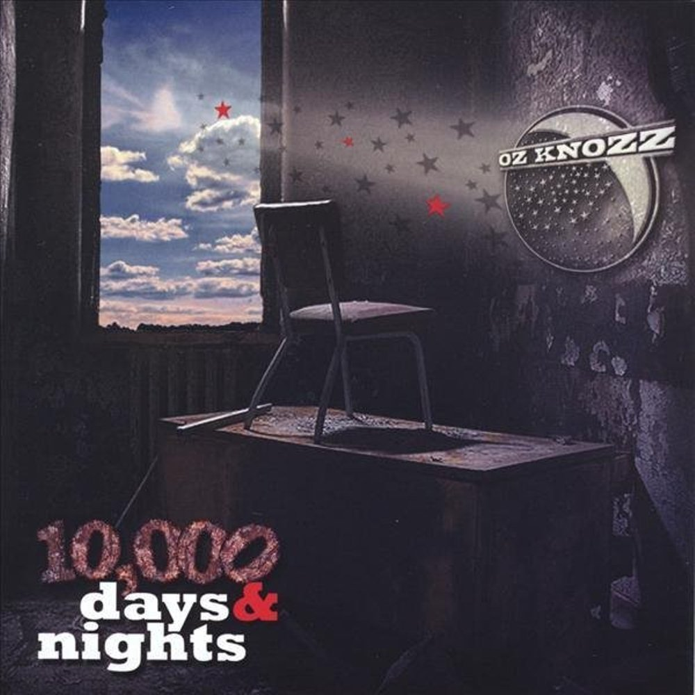 Oz knozz cd artwork 10000 days and nights