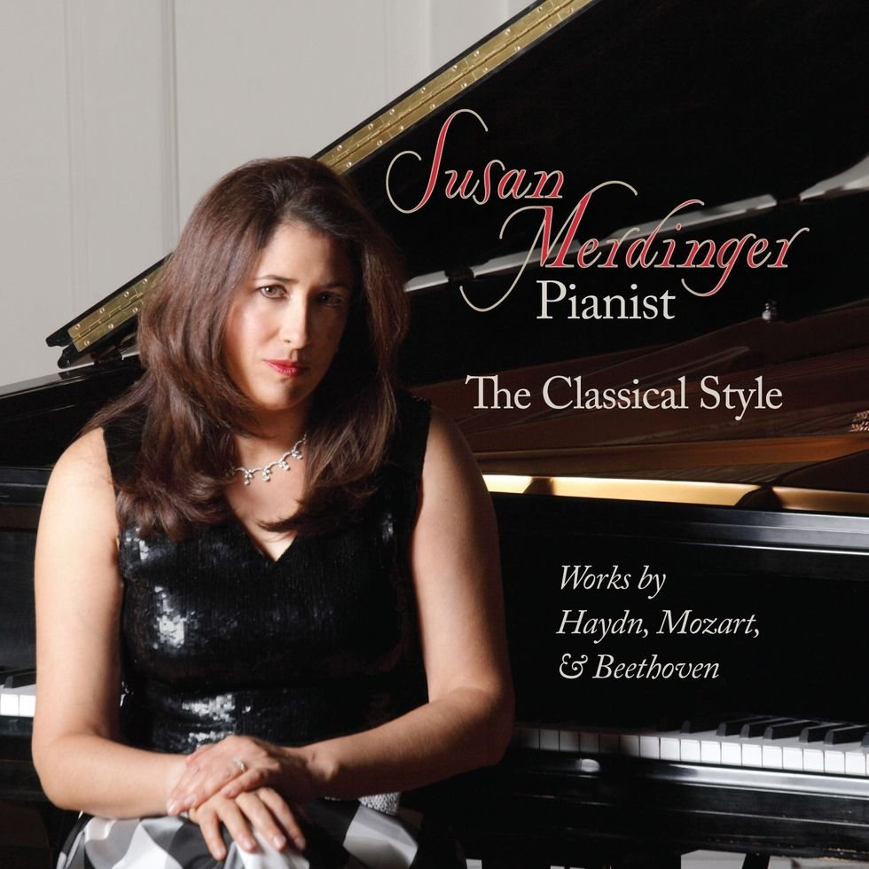 The classical style cd cover art