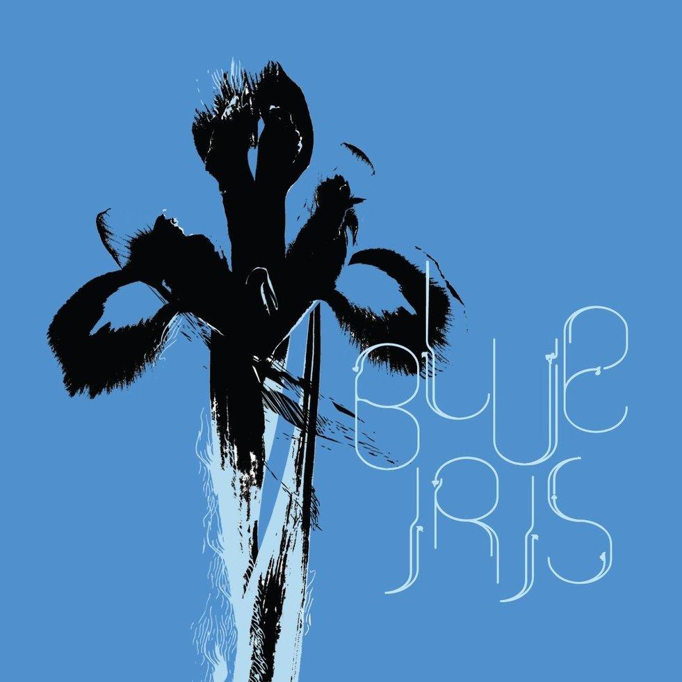 Blue iris cover