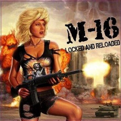 "M-16 ""Locked and Reloaded"""