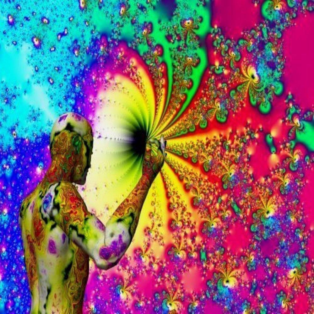 A psychedelic dreamjpeg