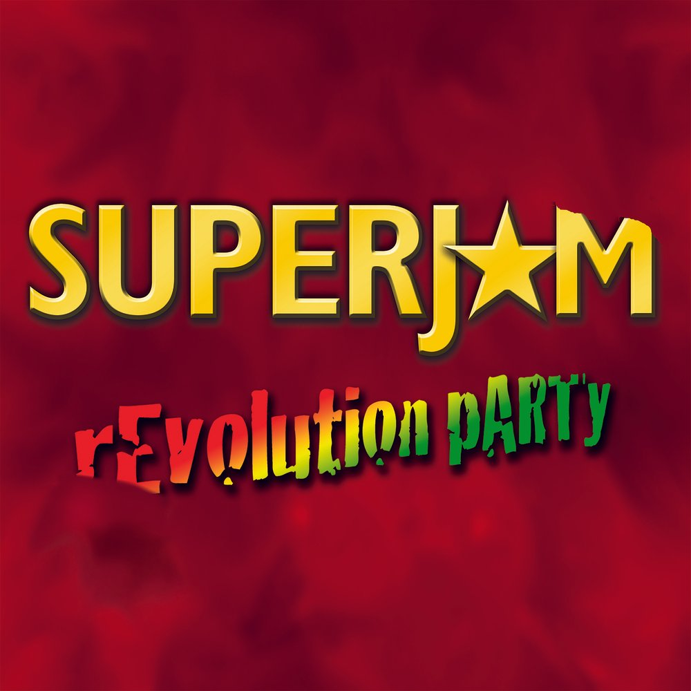Superjam revolution party cover