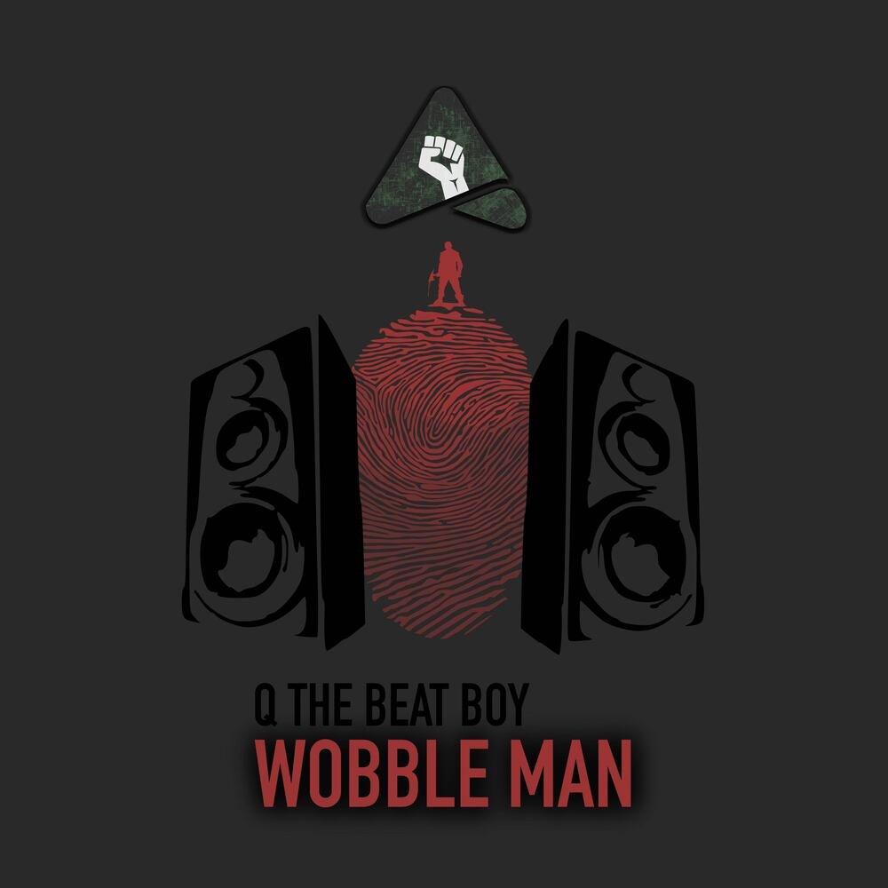 Q wobble man art