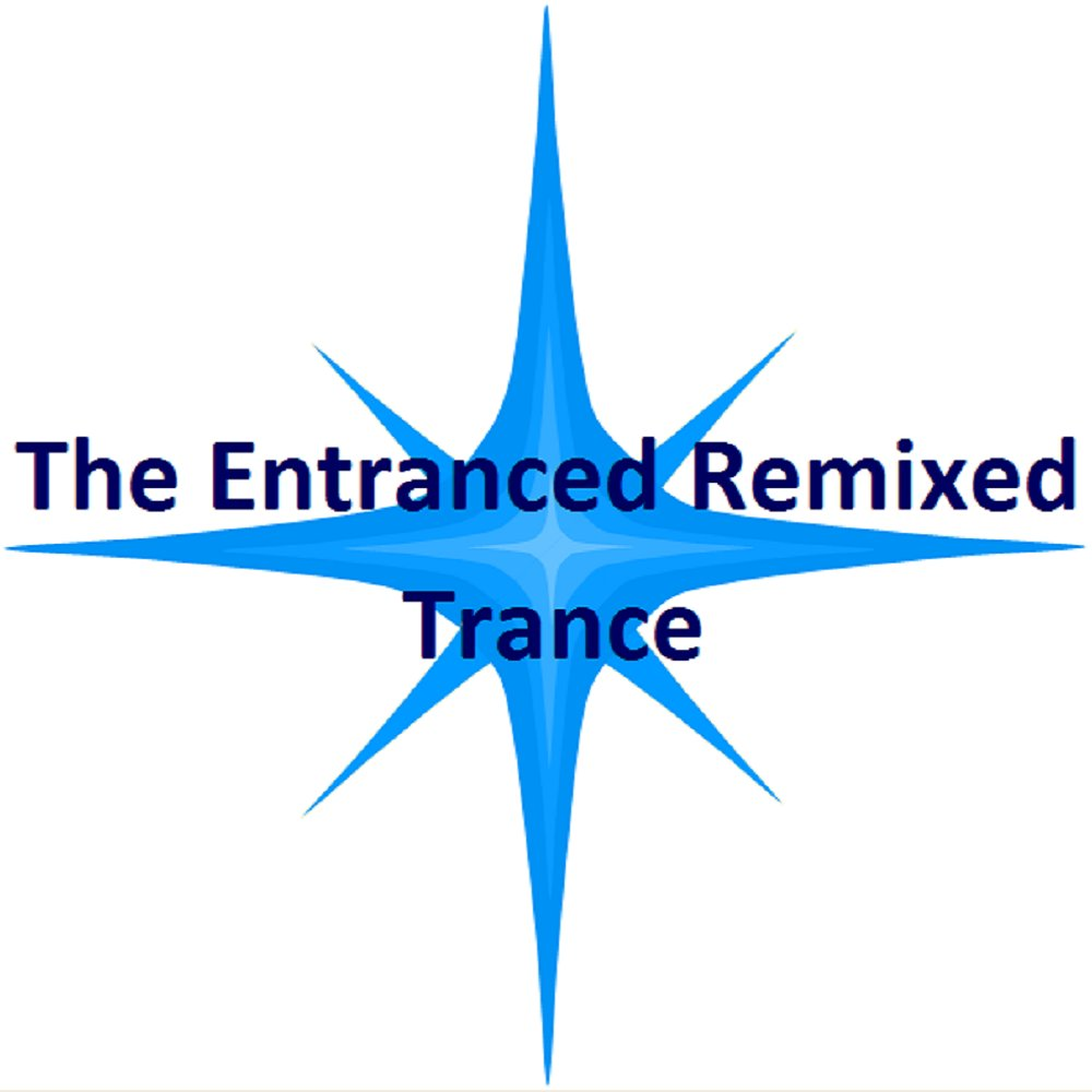 Logo blue the entranced remixed trance rn