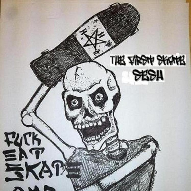 The first skate  sesh demo cover 2
