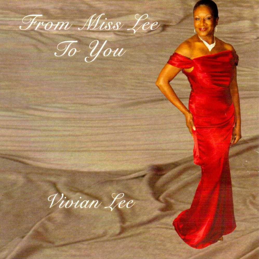Cd cover from miss lee to you