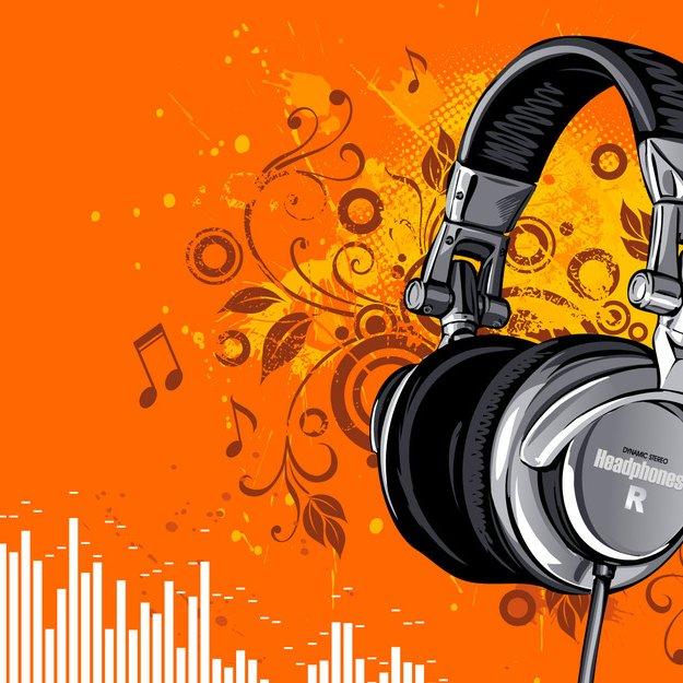 Animated headphone 46308