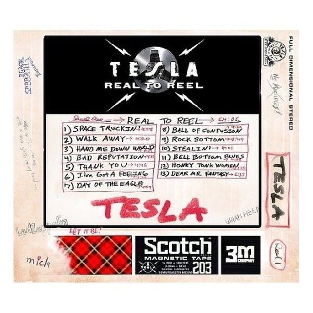 Real To Reel By Tesla Reverbnation