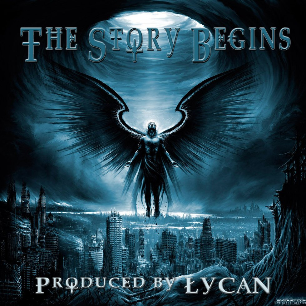 The story begins lp cover