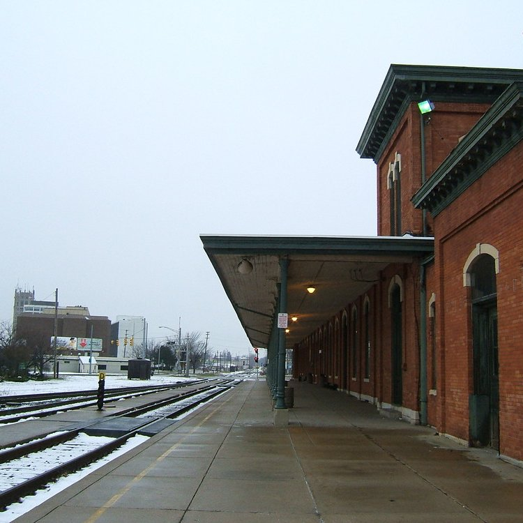 Jackson  mi amtrak station