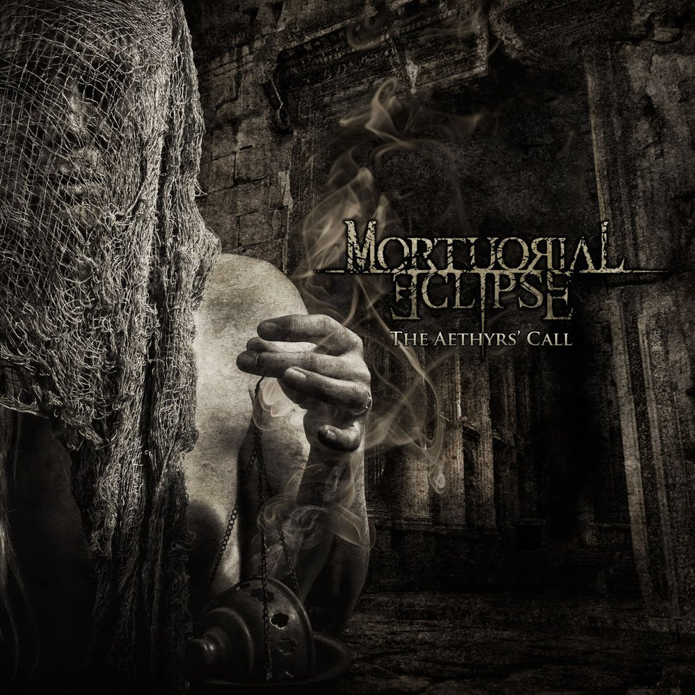 Mortuorial eclipse   the aethyrs call   cover atr