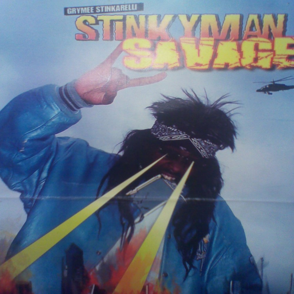Stinky savage cover wide