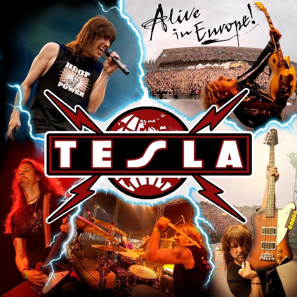 Tesla alive cover