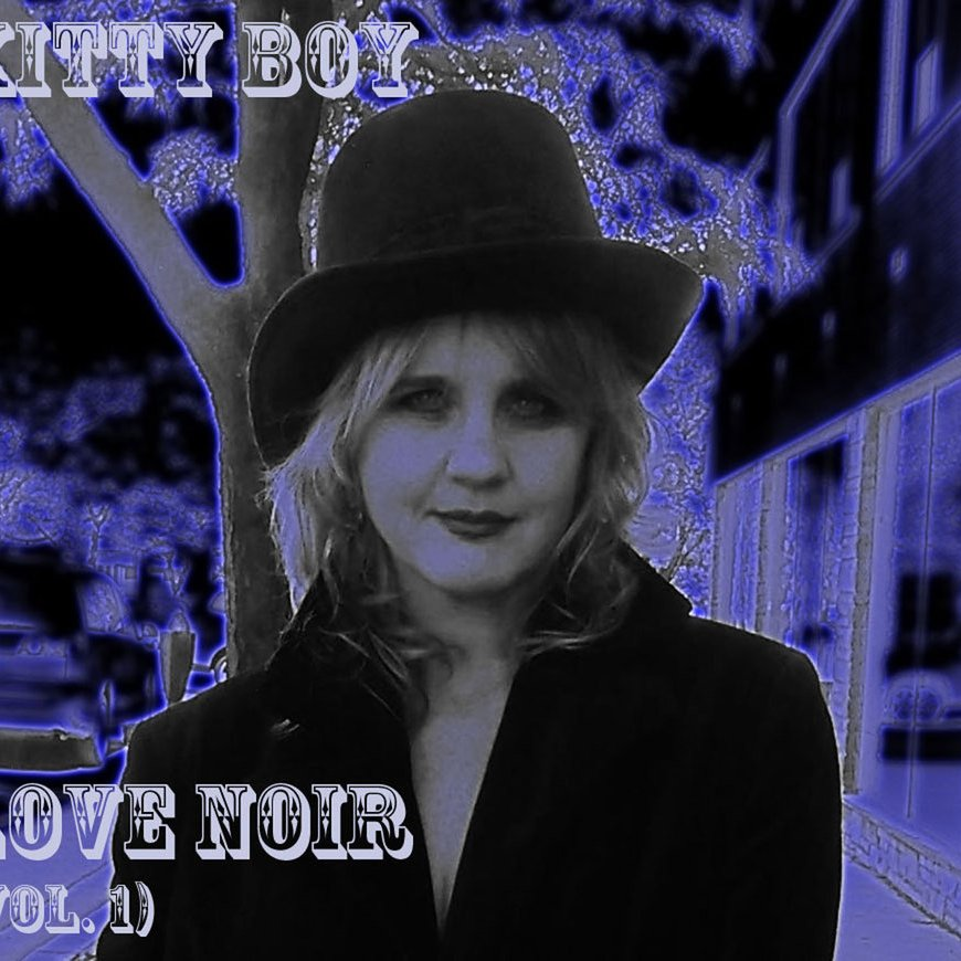 Kitty boy disc cover blue glow reverb 2