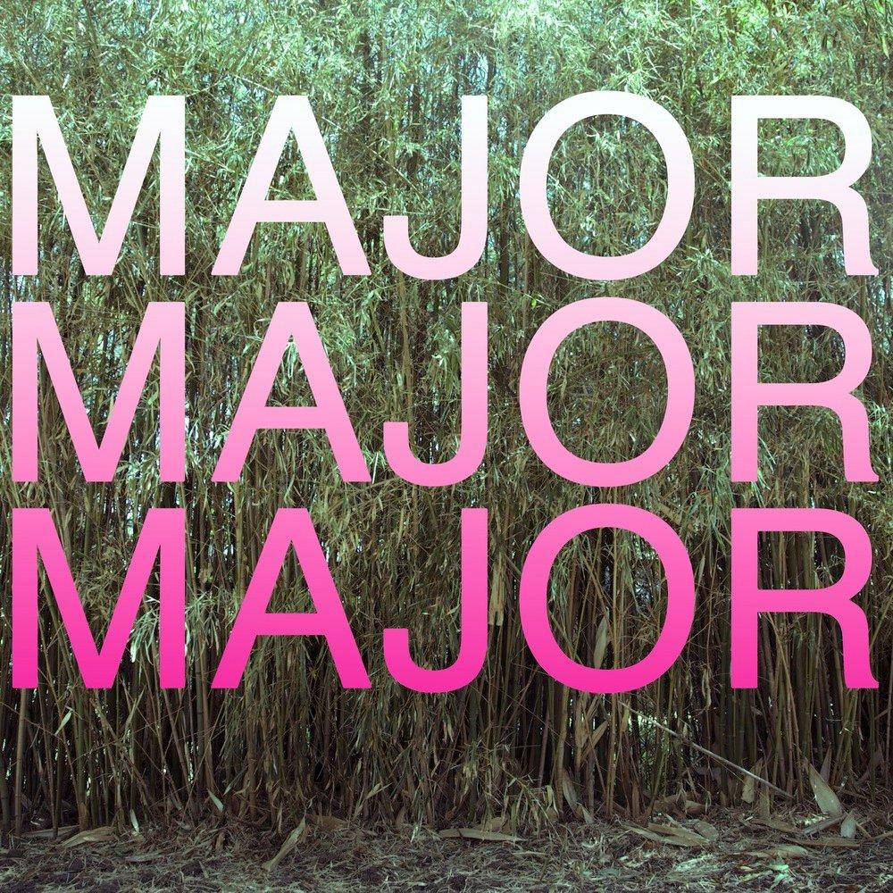 Majorx3 album cover smaller