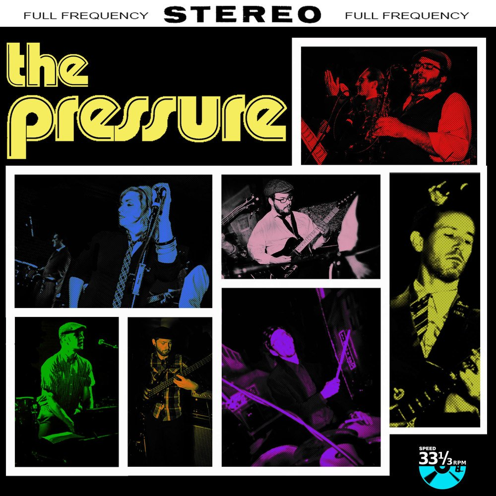 The pressure lp   front panel