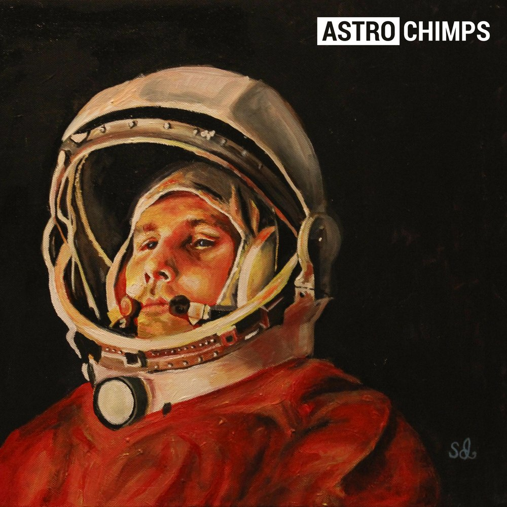 Astrochimps front cover