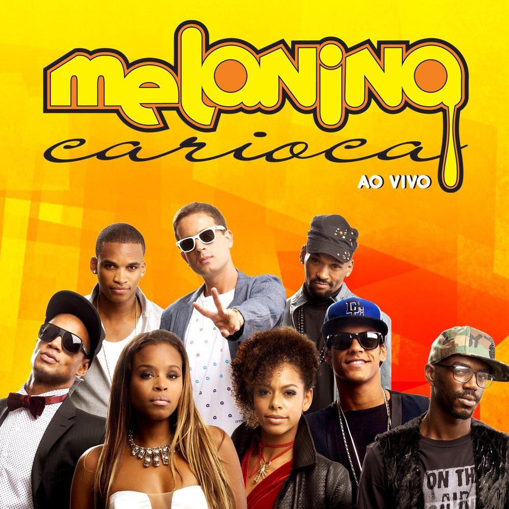 Capa cd melaninacarioca aovivo 2013