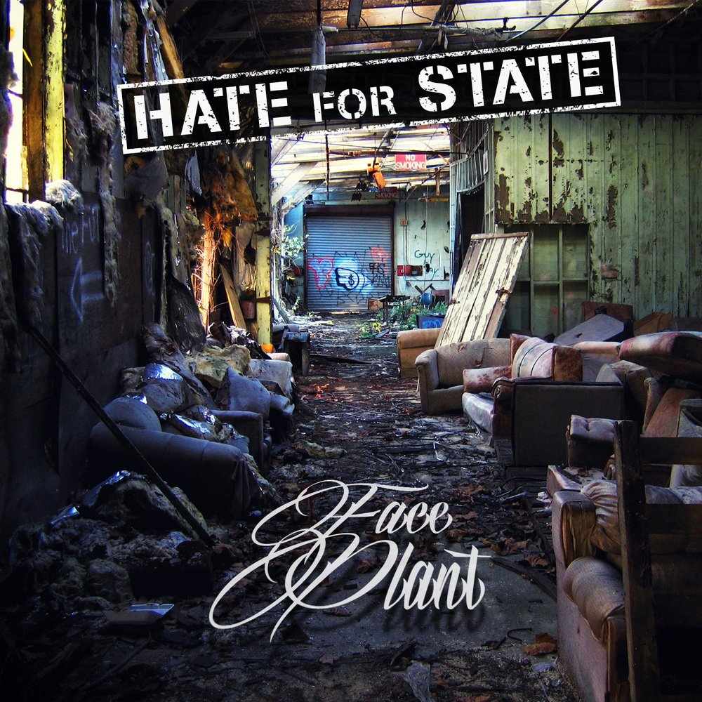 Hateforstate faceplant cover