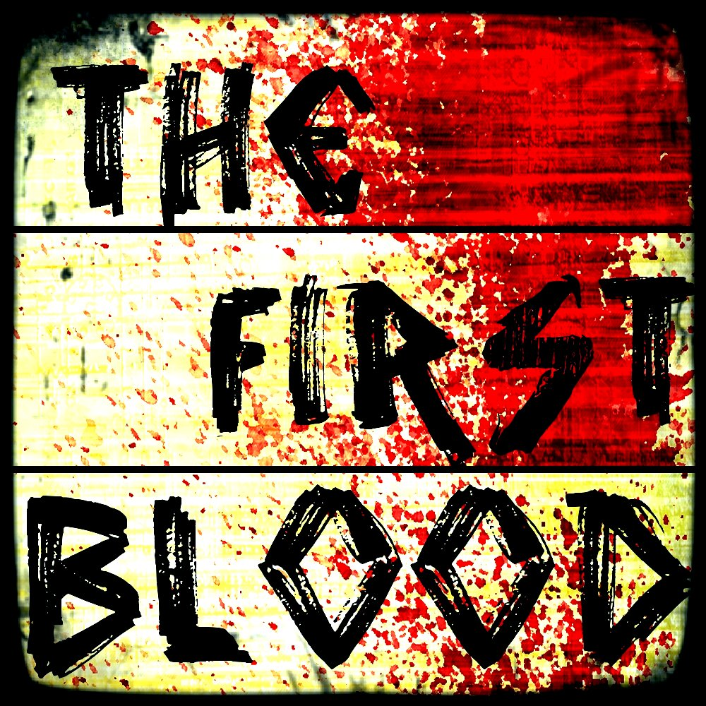 The first blood album cover