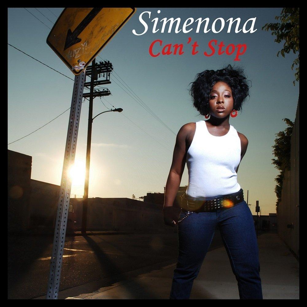 Simenona can t stop album cover
