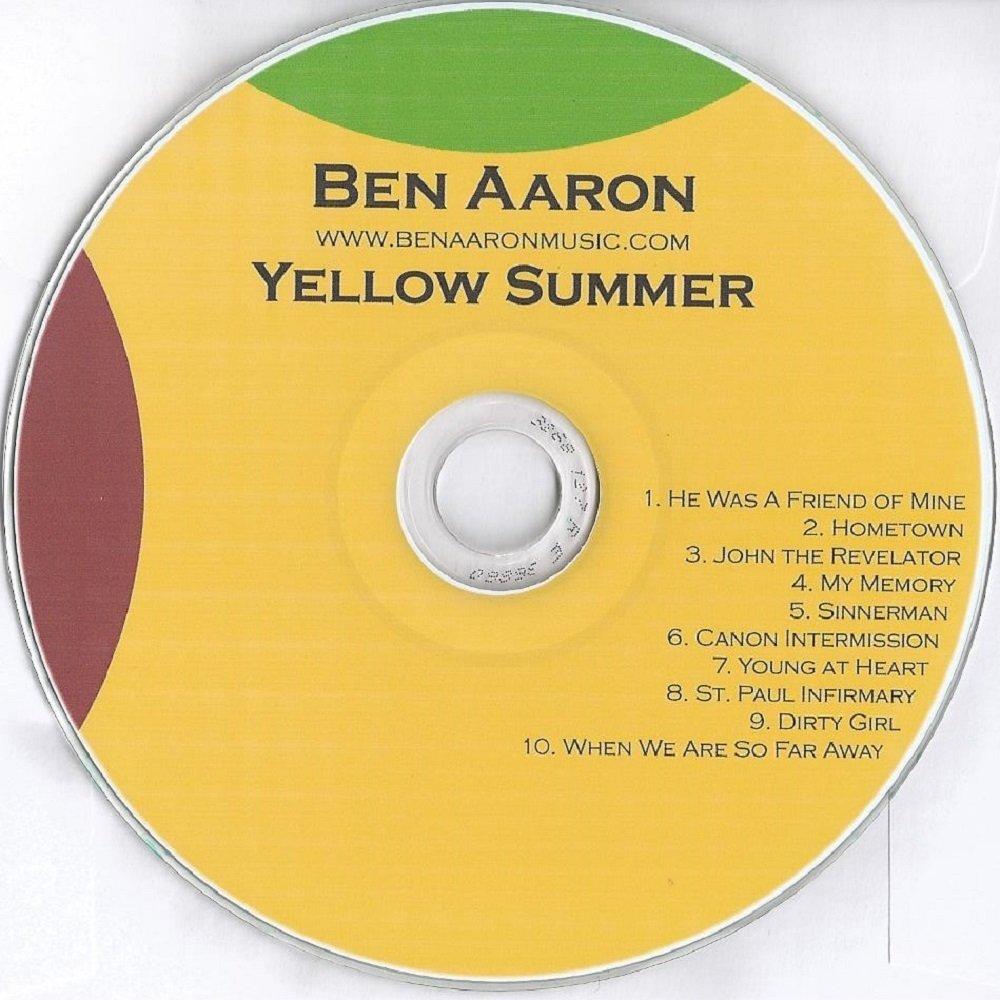 Yellow summer album cover 1000x