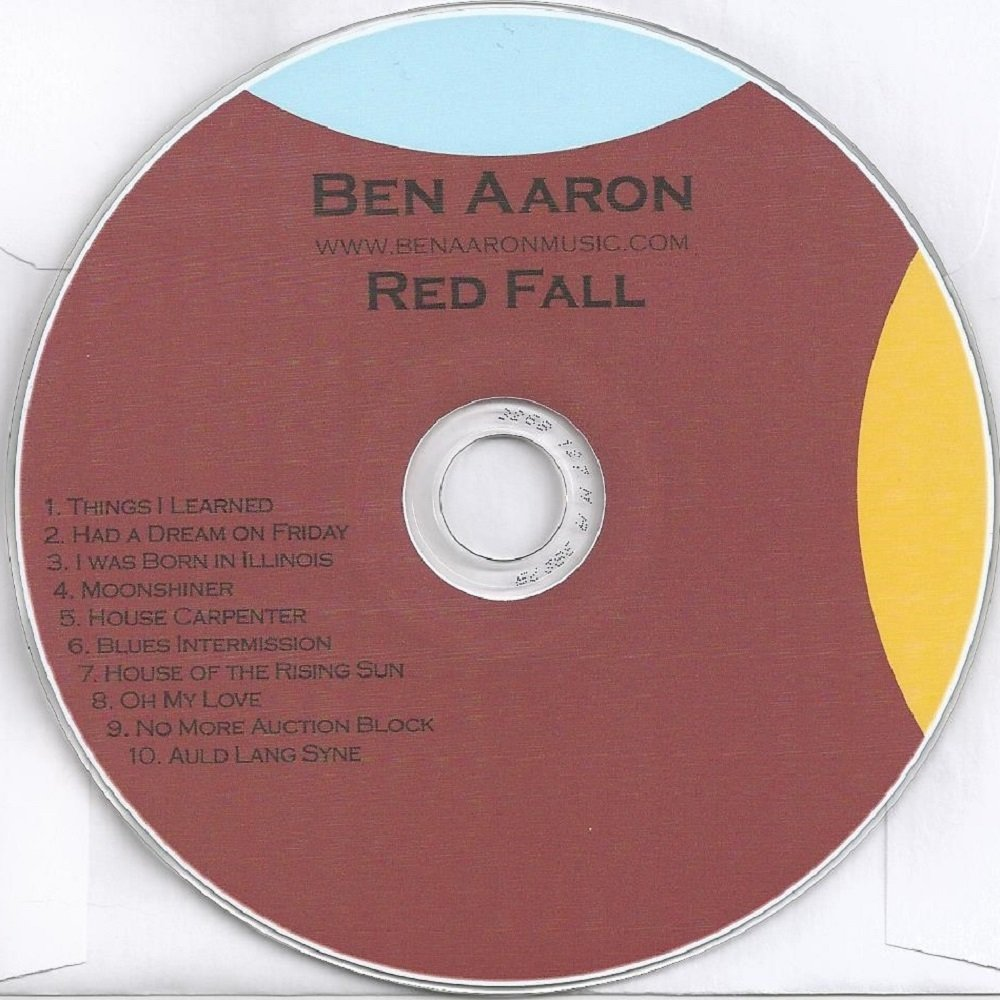 Red fall album cover 1000x