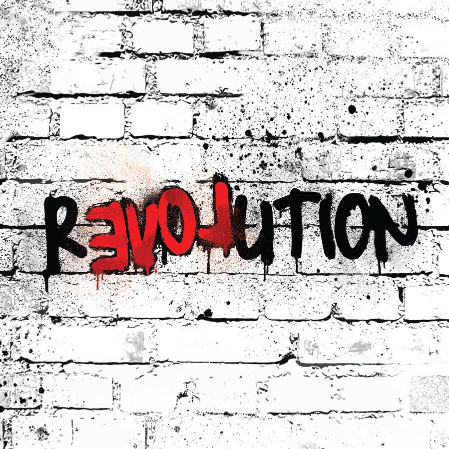 Revolution of love   album design