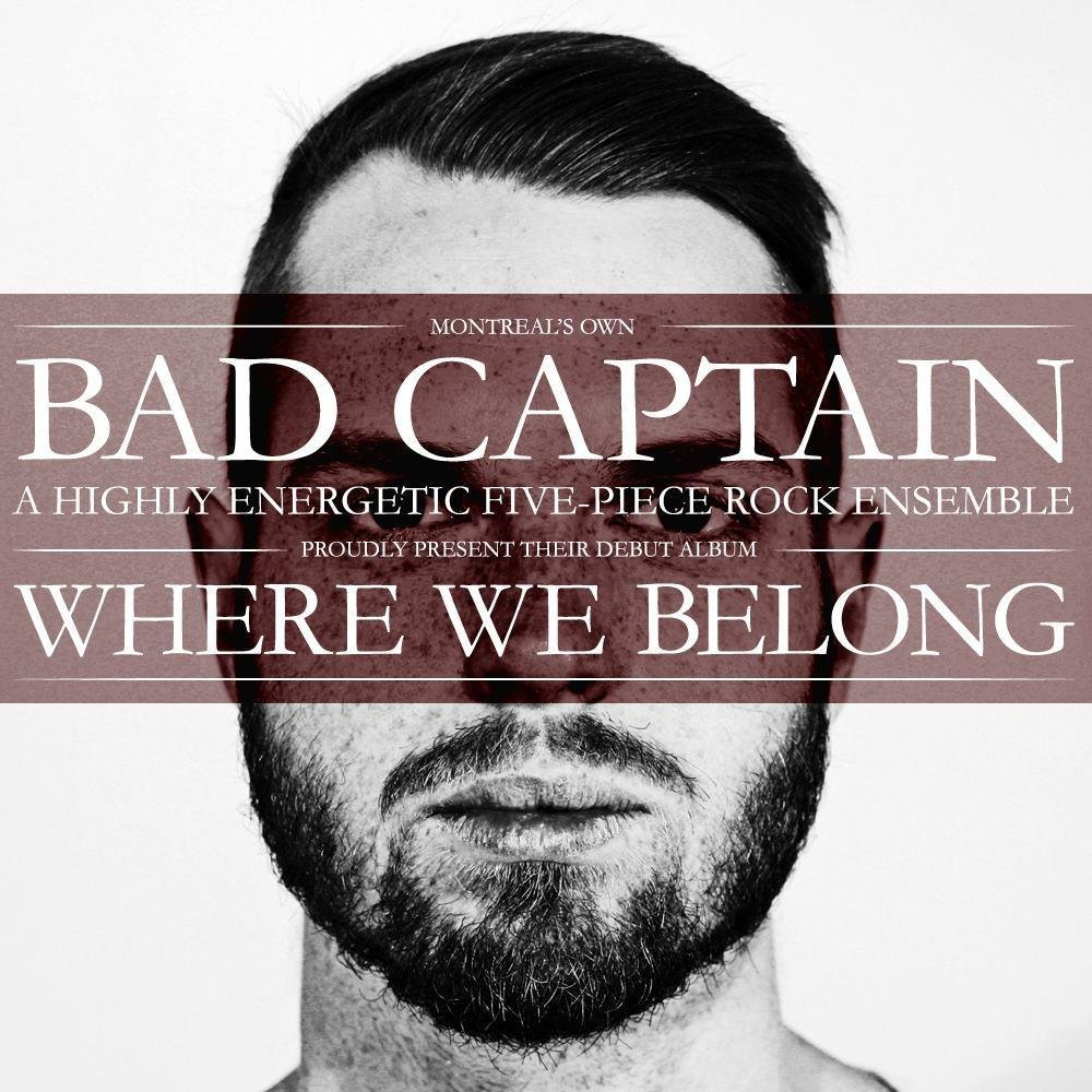Bad captain   where we belong  album cover