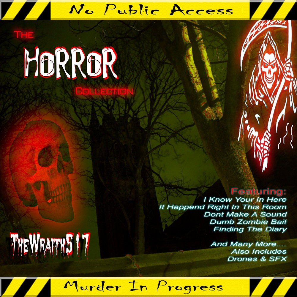 The horror collection front
