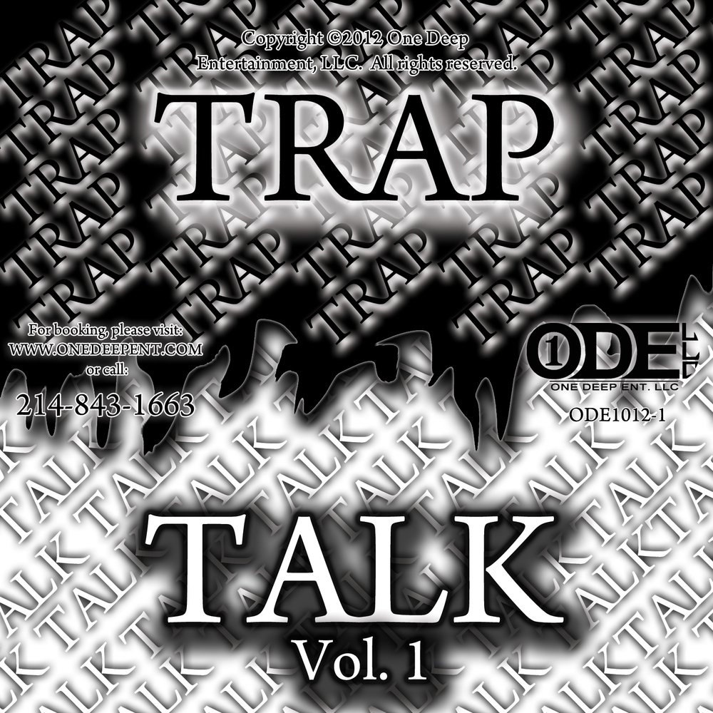 Trap talk   volume 1  cd label