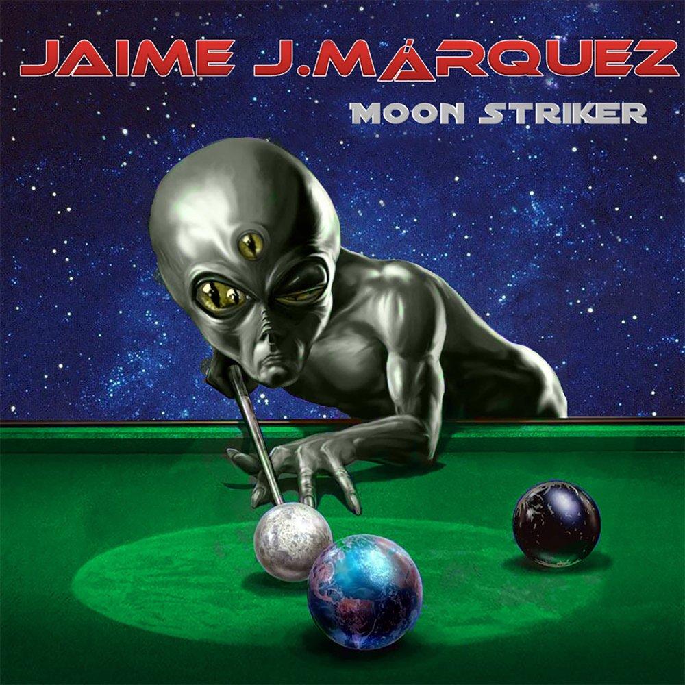 Jaime j.m rquez   moon striker  2014    cover