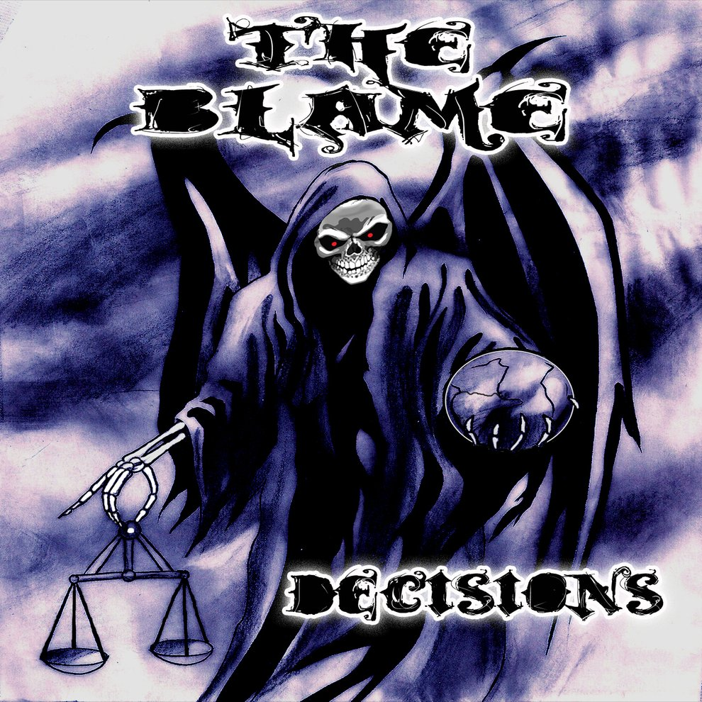 The blame decisions cd cover copy