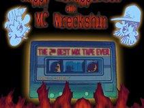 Rappy McRapperson and MC Wreckshin